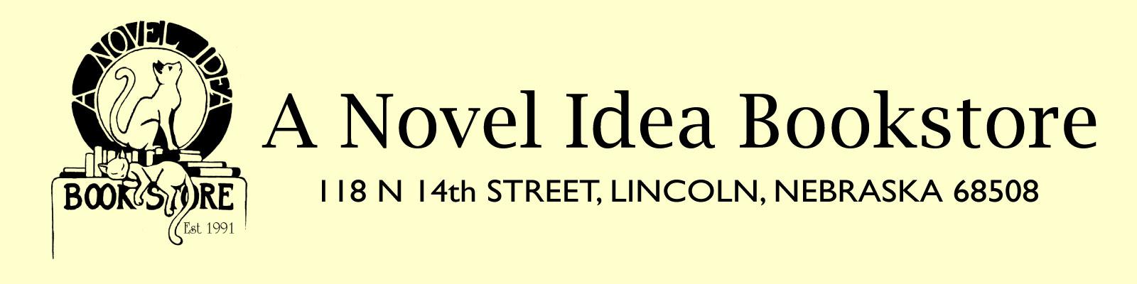 A Novel Idea Bookstore Logo